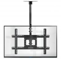 """ONKRON потолочный кронштейн для телевизора 32""""-80"""" потолочный телескопический, чёрный N1L - вид 8 миниатюра"""