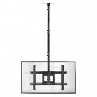 """ONKRON потолочный кронштейн для телевизора 32""""-80"""" потолочный телескопический, чёрный N2L - вид 8 миниатюра"""