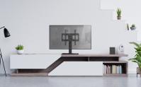 "ONKRON подставка для телевизора 26""-55"" настольная, чёрная PT1 - вид 6 миниатюра"