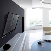"""ONKRON кронштейн для телевизора 43""""-85"""" наклонный, чёрный TM6 - вид 7 миниатюра"""