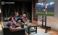 """ONKRON стойка для телевизора с кронштейном 50""""-86"""", мобильная, чёрная TS1881 - вид 8 миниатюра"""