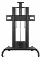"""ONKRON стойка для телевизора с кронштейном 60""""-100"""", мобильная, чёрная TS2210 - вид 1 миниатюра"""