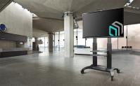 "ONKRON стойка для телевизора с кронштейном 60""-100"", мобильная, чёрная TS2811 NEW - вид 8 миниатюра"
